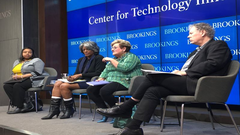 Brookings AI event