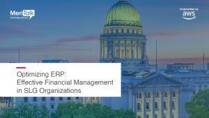 Optimizing ERP